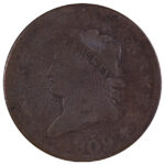 1809 Classic Head Large Cent good for sale w106 obverse