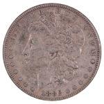 1882 Morgan Dollar ef for sale w537 obverse