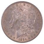 1891 S Morgan Dollar au for sale w552 obverse