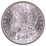 1899 Morgan Dollar ms60 for sale w568 obverse