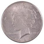 1928 Peace Dollar au for sale w600 obverse
