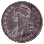 1814 Capped Bust Half Dollar vf30 for sale w742 obverse