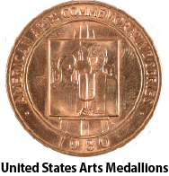 us-arts-medallion-gold