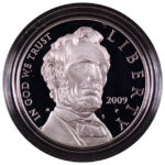 2009 P Abraham Lincoln Bicentennial Silver Dollar Ch. Proof for sale obverse