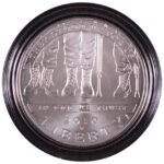 2010 W Disabled American Veterans Silver Dollar BU for sale obverse