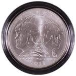 2011 S U.S. Army Silver Dollar BU for sale obverse