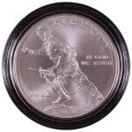 2012 W Infantry Soldier Silver Dollar BU for sale obverse