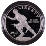 2012 W Infantry Soldier Silver Dollar Proof for sale obverse