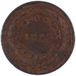 Argentina Buenos Aires Decimo 1823 ef for sale F105 obverse