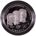 2013 W Girl Scouts of the U.S.A. Centennial Silver Dollar Ch. Proof for sale obverse