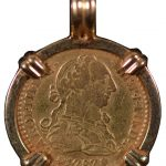 Spain 1 Escudo 1787 S CM vf Mounted in Pendant for sale F136 obverse