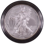 2008 W Uncirculated Silver Eagle for sale obverse