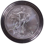 2011 W Uncirculated Silver Eagle for sale obverse