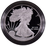 2012 W Proof Silver Eagle for sale obverse
