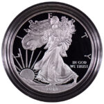 2013 W Proof Silver Eagle for sale obverse