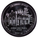 2016 Harper's Ferry (WV) America the Beatutiful 5 ounce silver quarter uncirculated for sale reverse