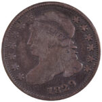1829 Bust Half Dime JR-3 vg for sale w617 obverse