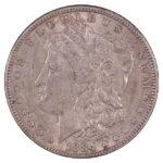1884 Morgan Dollar ef45 for sale w540 obverse