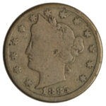 1885 Liberty Nickel good+ for sale w350 obv