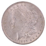 1887 O Morgan Dollar au for sale w546 obverse