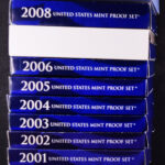 1999-2009 Proof Sets-boxes