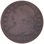 1832 Bust Dime JR-2 vg10 for sale w619 obverse