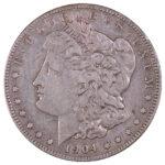 1904 S Morgan Dollar f15 for sale w892 obverse