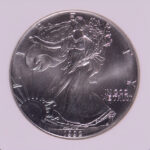 Close up 1992 Silver Eagle Dollar MS69 NGC for sale 1797322-202 obverse