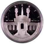 1984 S Olympic Commemorative Silver Dollar Ch. Proof for sale obverse