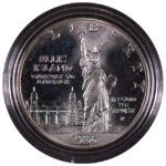 1986 S Statue of Liberty Centennial Silver Dollar Ch. BU for sale obverse