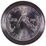 1988 D Seoul Summer Olympics Silver Dollar Ch. BU for sale obverse