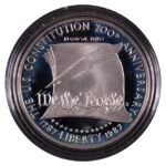 1989 S Constitution Bicentennial Silver Dollar Ch. Proof for sale obverse