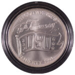 1991 D United Service Organizations Silver Dollar Ch. BU for sale obverse