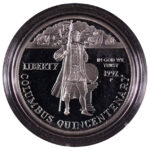 1992 P Columbus Quincentennial Silver Dollar Ch. Proof for sale obverse