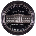 1992 W White House Bicentennial Silver Dollar Ch. Proof for sale obverse