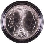 2001 P American Buffalo Silver Dollar Ch. BU for sale obverse