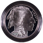 2001 P American Buffalo Silver Dollar Ch. Proof for sale obverse