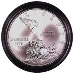 2005 P Marine Corps 230th Anniversary Silver Dollar Ch. BU for sale obverse