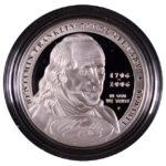 2006 P Benjamin Franklin Commemorative Dollar Statesman Proof for sale obverse