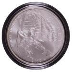 2012-P Star Spangled Banner Silver Dollar Ch. BU obverse