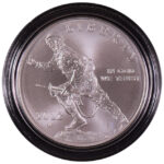 2012 W Infantry Soldier Silver Dollar BU for sale obverse