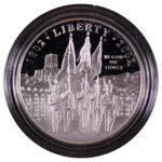 2002 W West Point Bicentennial Silver Dollar Ch. Proof for sale obverse
