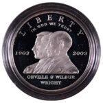 2003 P First Flight Centennial Silver Dollar Ch. Proof for sale obverse