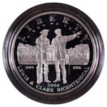 2004 P Lewis and Clark Bicentennial Silver Dollar Ch. Proof for sale obverse