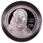 2006 P Benjamin Franklin Commemorative Dollar Statesman Proof for sale obverse