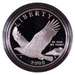 2008 P Bald Eagle Silver Dollar Proof for sale obverse