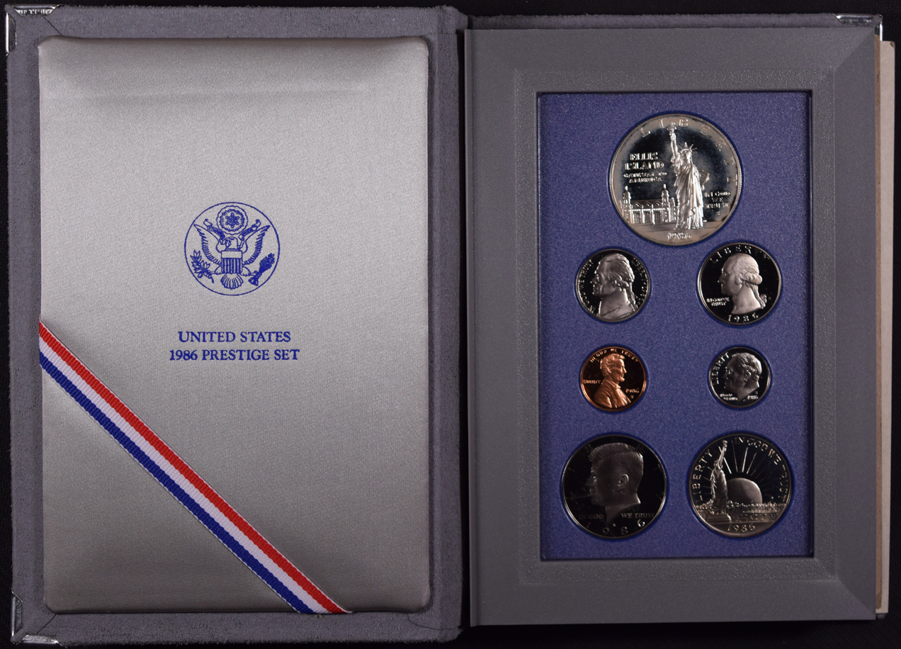 1986 S Prestige Set Liberty Coin