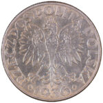 Poland 5 Zlotych 1936 au for sale F102 obverse