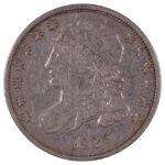 1835 Capped Bust Dime jr-4 vf35 for sale w918 obverse