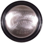2014 P National Baseball Hall of Fame Silver Dollar BU for sale reverse